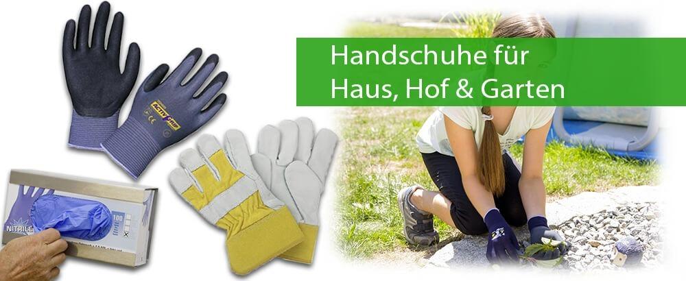Handschuhe für Haus, Garten und Arbeit