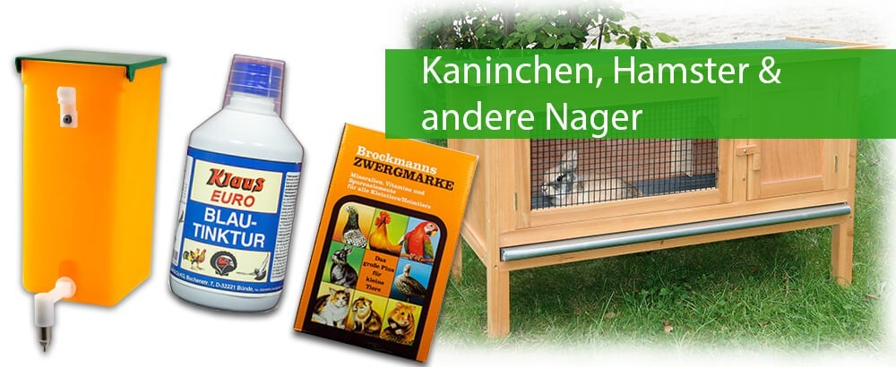 Kaninchen, Hamster & andere Nager