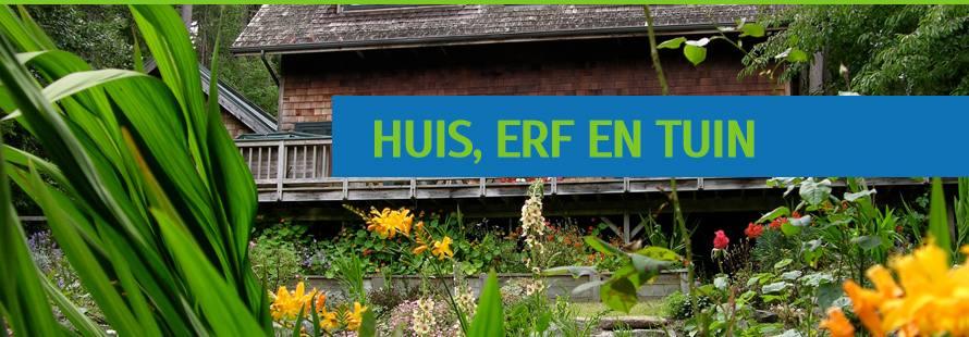 Huis, erf en tuin