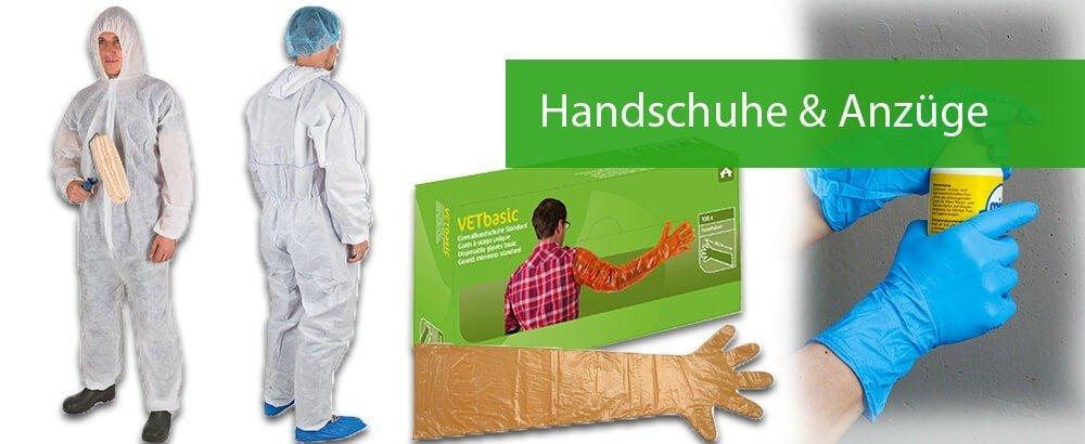 Handschuhe & Anzüge