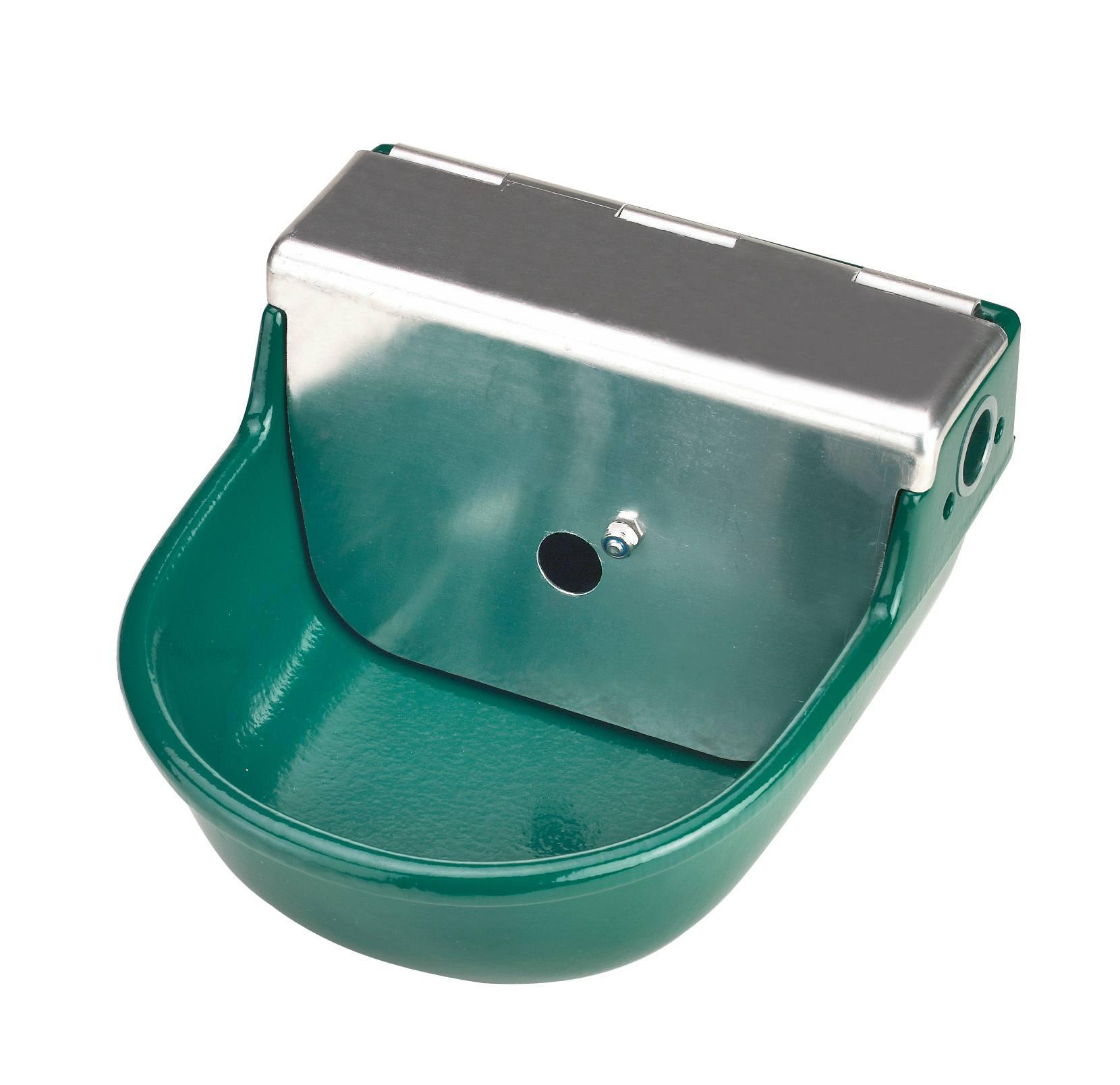 Tränketrog mit Schwimmerventil Ersatzventil Hochdruck Tränke Tränkebecken Pferd
