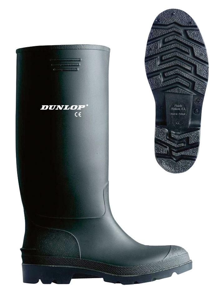 Schuhe & Stiefel Dunlop Pricemastor Gummistiefel Arbeitsstiefel Boots Stiefel Schwarz Gr.46