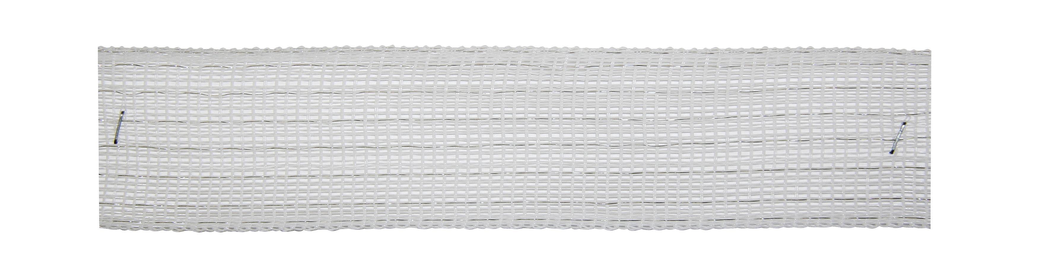 200 Meter Weidezaunband 40 mm,8 Niro,weiss