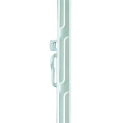 Weidezaunstab Kunststoffstab weiß, 150 cm Länge - 10 Stück im Bündel