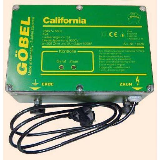 California N 9000, Netzgerät Weidezaungerät aus deutscher Herstellung