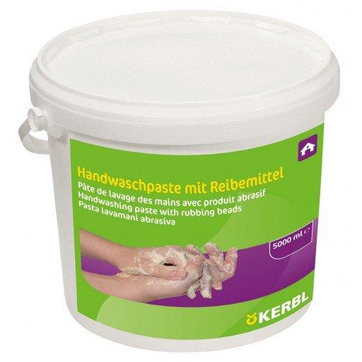Kerbl Handwaschpaste 5l - Handreiniger mit Reibemittel 5000 ml Eimer