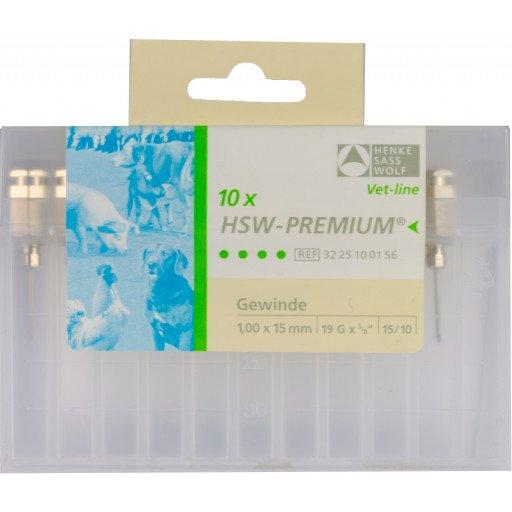 Kanülen Premium 1,0 x 15 mm Vorderseite