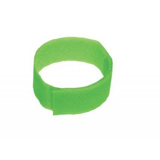 Fesselband Klettverschluß, 10 Stück grün
