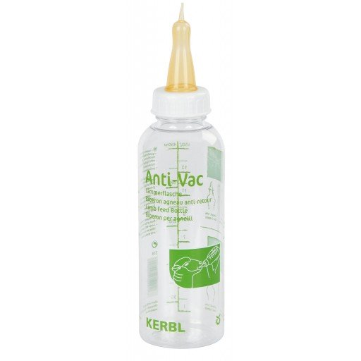 Lämmerflasche Anti-Vac, komplett mit Sauger