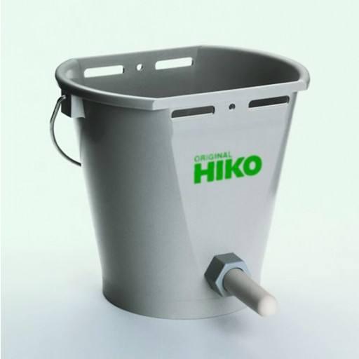 Original HIKO Kälbertränkeeimer/Kälbereimer TK 9 - Tränkeeimer für Kälber - leicht und stabil - stapelbar mit 9 Liter Voliumen.