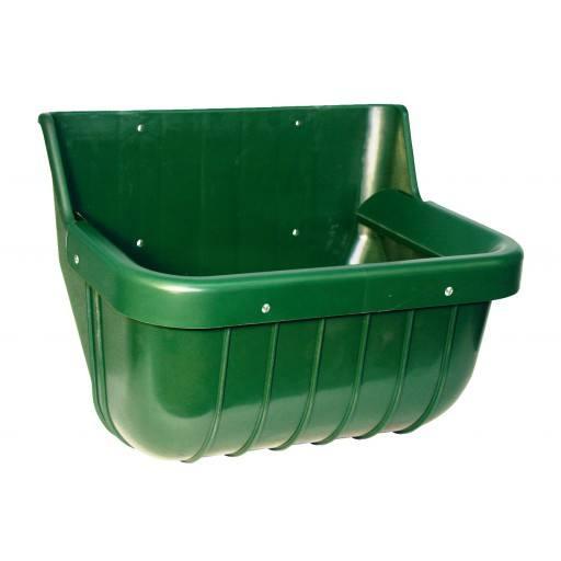 Pferdefuttertrog mit Schutzkante, 15 Liter