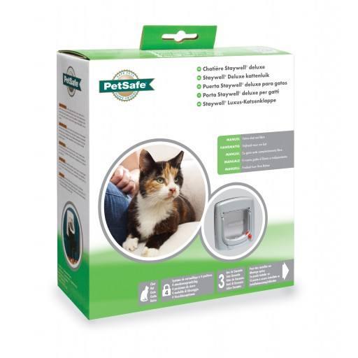 Staywell® Luxus manuelle Katzenklappe
