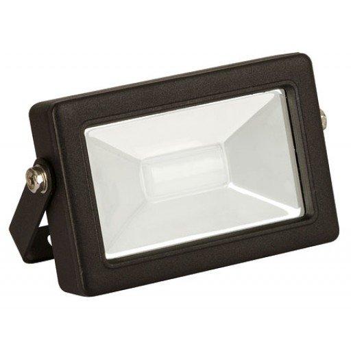 LED Außenstrahler schwarz ohne Bewegungsmelder