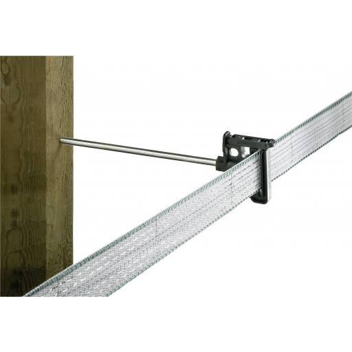 Klippisolator Langstiel für Breitband/Seil, 10 Stück