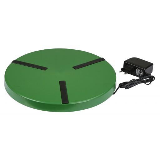 Heizplatte für Geflügeltränken bis 300 mm Durchmesser - 24 Volt - 22 Watt Wärmeplatte