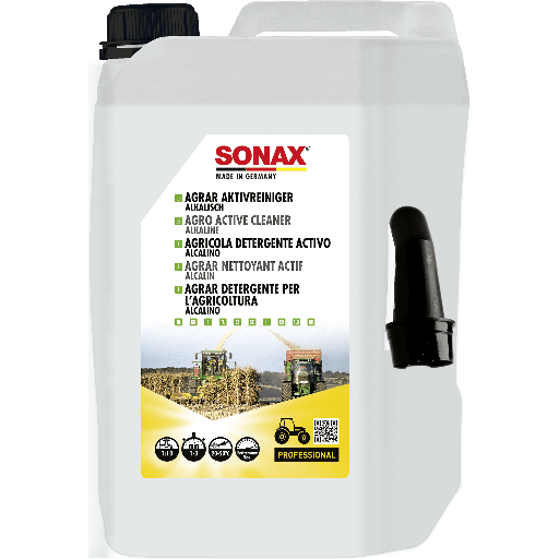 SONAX AGRAR Aktivreiniger alkalisch 5 L