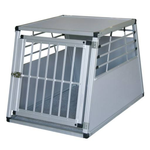 Alu Transportbox für Hunde