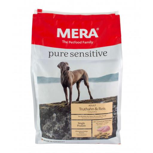 MERA pure sensitive mit Truthahn und Reis 4 kg