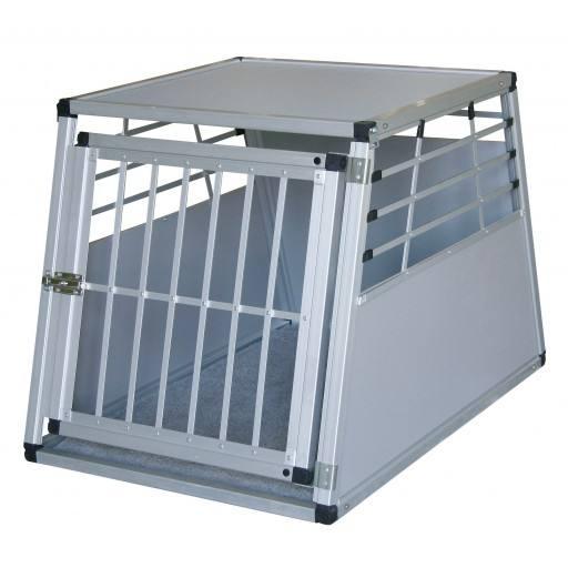 Alu - Transportbox 75 x 55 x 50 cm von Petsafe - A-TB-AL-M