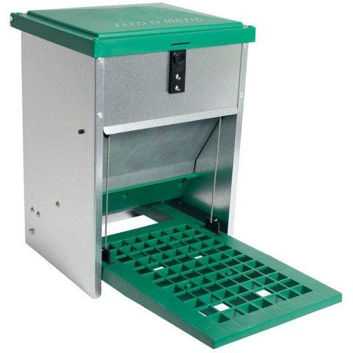 Feedomatic Futterautomat mit Trittplatte für 5kg Futter