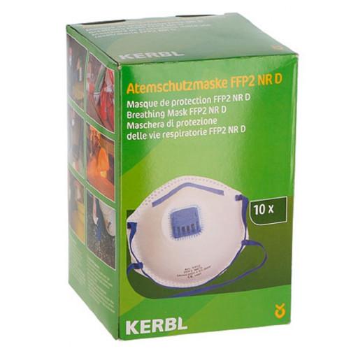 Atemschutzmaske FFP 2 D mit Ventil - 10 Stück / Pack - Feinstaubmaske
