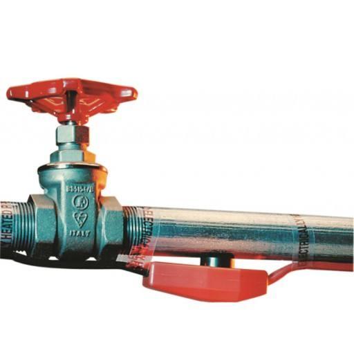 Frostschutz für Heizleitung 48 m mit Thermostat - Heizkabel für Wasserleitung mit 768 Watt
