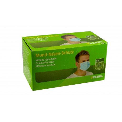 Mund-Nasenschutz 50 Stück / Box 3 lagig Hygienemaske