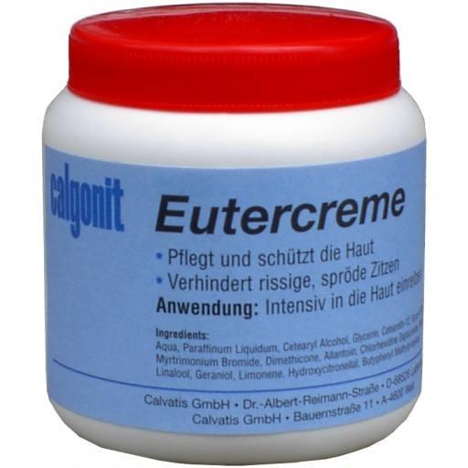 Calgonit Eutercreme 250 ml - Sehr gut als Handcreme geeignet! Melkfett & Hautschutz