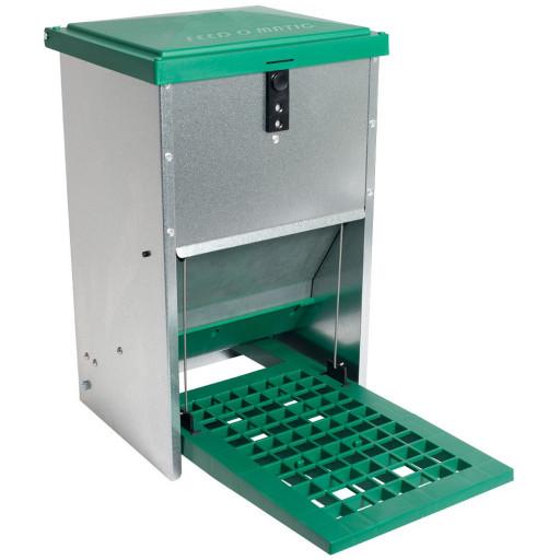 Feedomatic Futterautomat mit Trittklappe für 8kg Futter