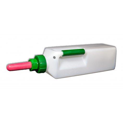Gewa Kälbermilchflasche 3 Liter mit Haltegriff - Milchflasche für Kälber
