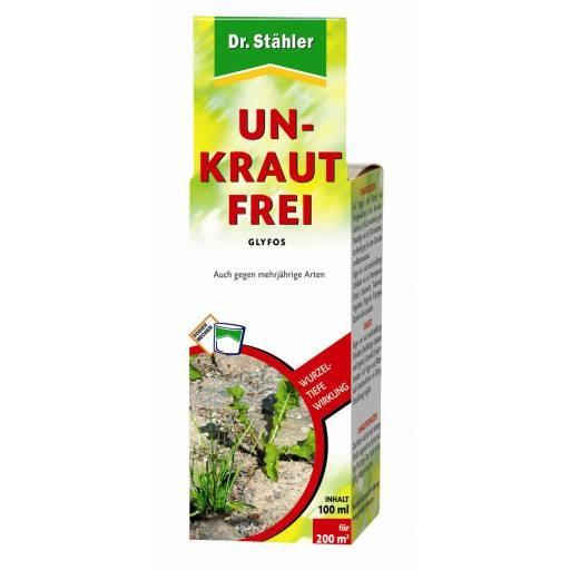 Glyfos Unkraut-Frei, 100 ml, 360 g/l Glyphosat von Dr. Stähler