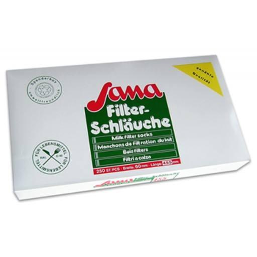 SANA Milchfilter genäht, 810 x 78 - 250 Stück / Pack