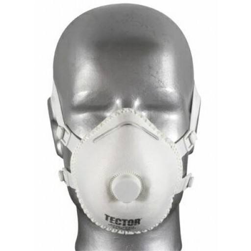 Feinstaubmaske P3 von Tector® mit Ventil - 5 Stück