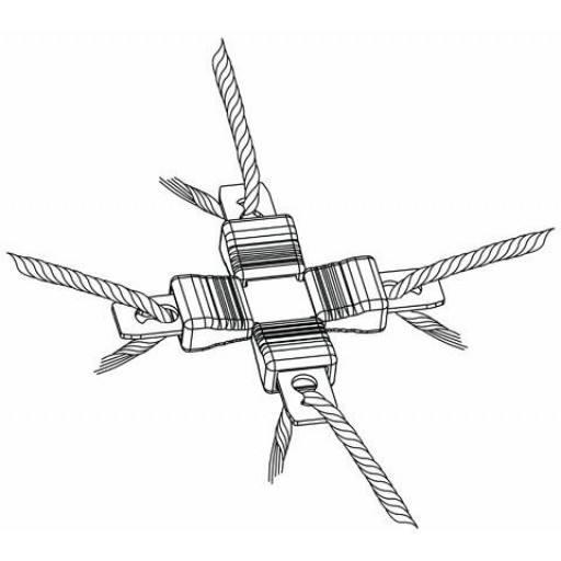 Litzclip® Knotengitter Reparaturset Knotengitter Reparaturset für Schafnetze, Geflügelnetze oder Kaninchennetze