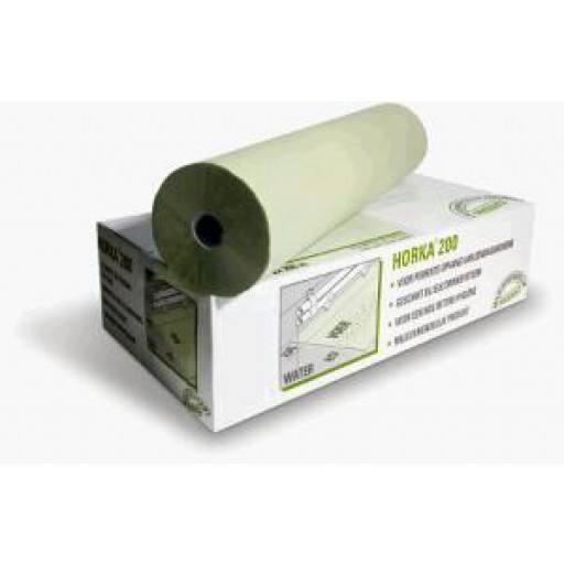 Kükenpapier HORKA -  200 m Rolle in grün - Mit rauer Oberfläche und hochabsorbierenden Eigenschaften! Raschelndes Papier für Küken. Zerfällt nach wenigen Tagen.