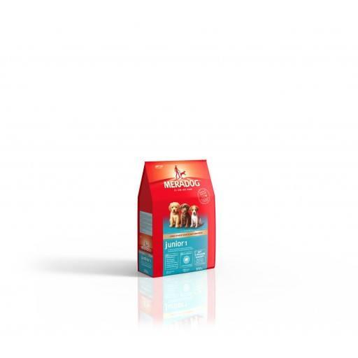 Meradog High Premium Aufzucht Junior 1 - für kleine und mittlere Rassen - 0,3 kg