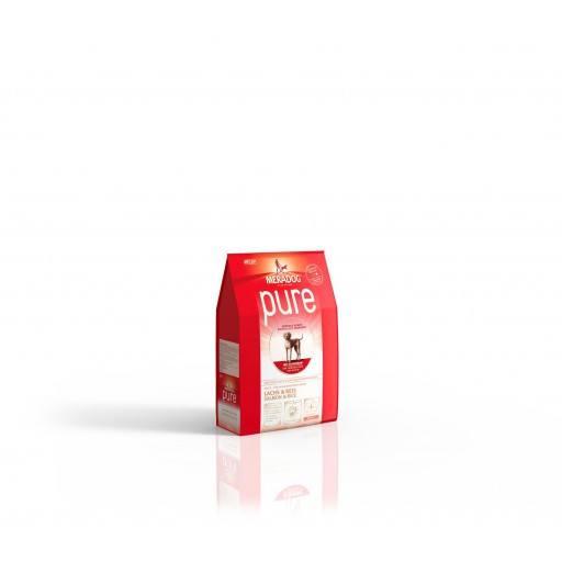 Meradog Pure Lachs und Reis 0,3 kg