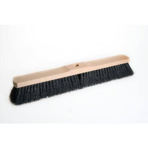 Saalbesen 50 cm, Haar-Mischung, mit Stielloch