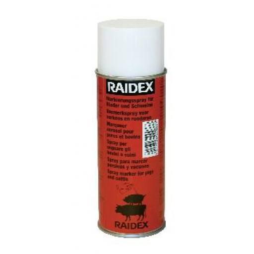 Viehzeichenspray Raidex 200 ml, rot