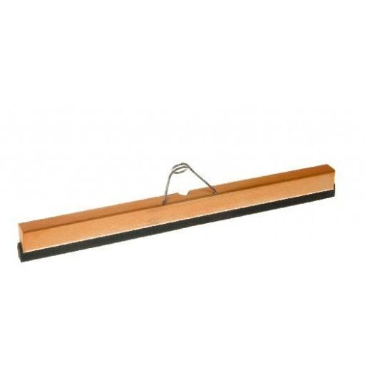 Wasserschieber 50 cm, Holz, mit Halter