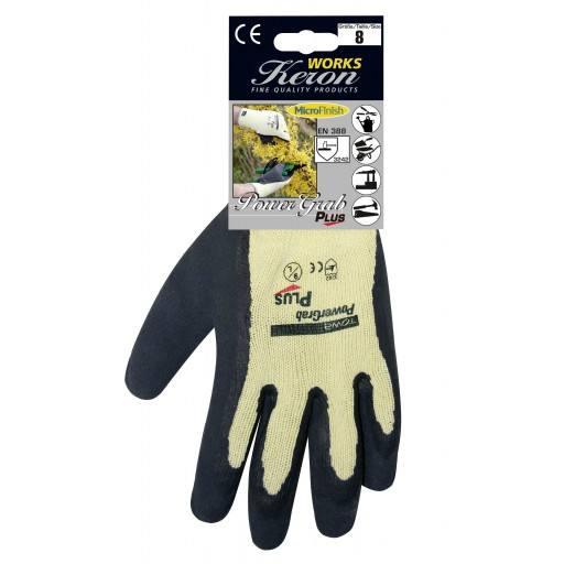 Qualitäts Handschuh Power Grab Plus, Größe 7 - 11