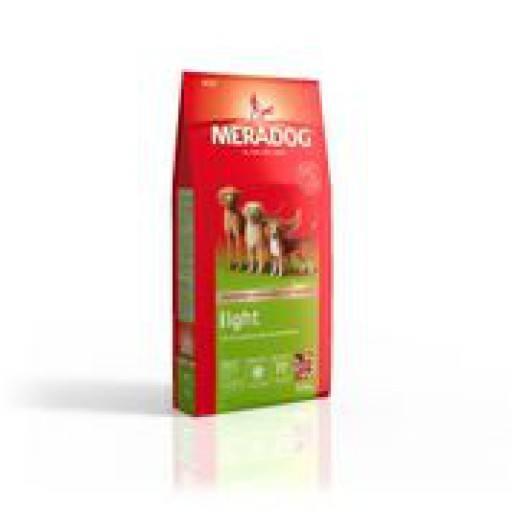 Meradog Light 12,5 kg, Alleinfuttermittel von Mera für übergewichtige Hunde
