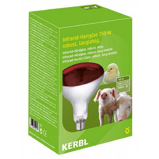 Infrarotbirne 150 Watt Infrarotlampe 150W Hartglas, rot von Kerbl