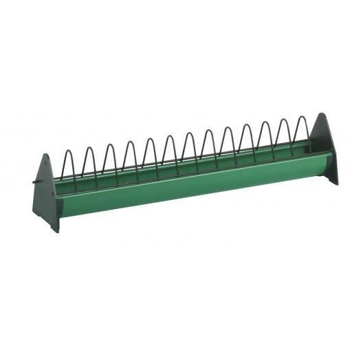 Junghennentrog mit Freßgitter 100 cm in grün - Pflegeleicht und stabil! Original Stückerjürgen