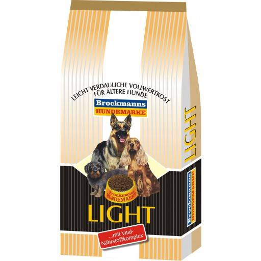Brockmanns Light 15 kg - Brockmanns Hundefutter - Alleinfuttermittel