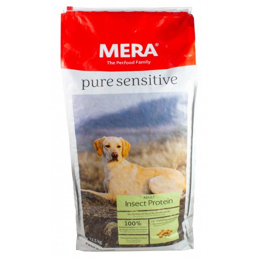 Mera pure sensitive Insect Protein 12,5 kg - Hundefutter aus Insekten