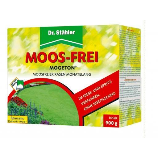 Mogeton® Moos-Frei Moosentferner von Dr. Stähler, Inhalt: 900 g, 20 x 45 g Portionsbeutel