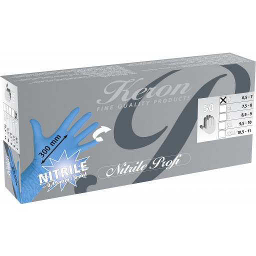 Nitrile Handschuhe Milkmaster - Gr. L - 50 Stück / Pack