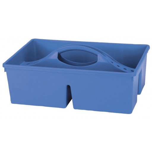 Putzkasten offen, blau