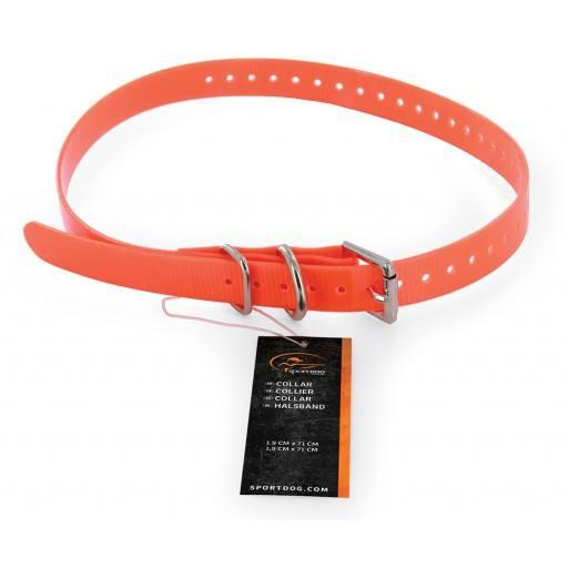 Halsband 1,9cm orange SAC30-13319